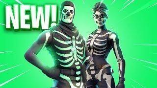 The New Skull Trooper Skins In Fortnite Skin Trooper Fortnite