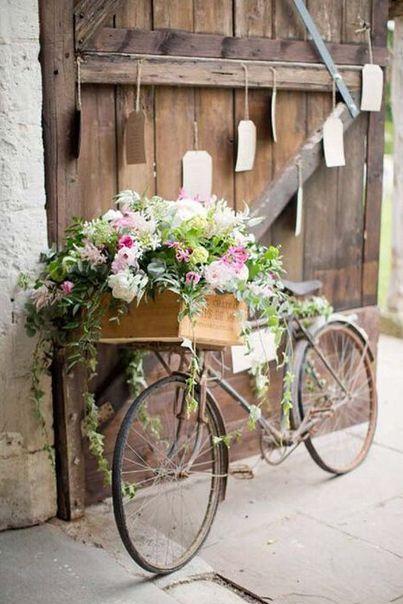 Dizionario Fiori.Il Dizionario Dei Fiori Spring Matrimonio Bicicletta