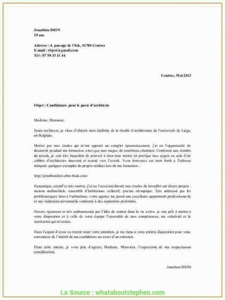 Lettre De Motivation 3eme Prepa Pro Paperblog Lettre De Motivation Exemple De Lettre Modeles De Lettres