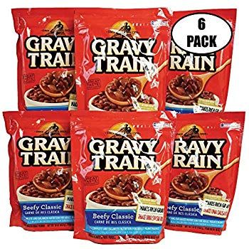 Gravy Train Beefy Classic Dry Dog Food 16 Oz Pack Of 6 Thank