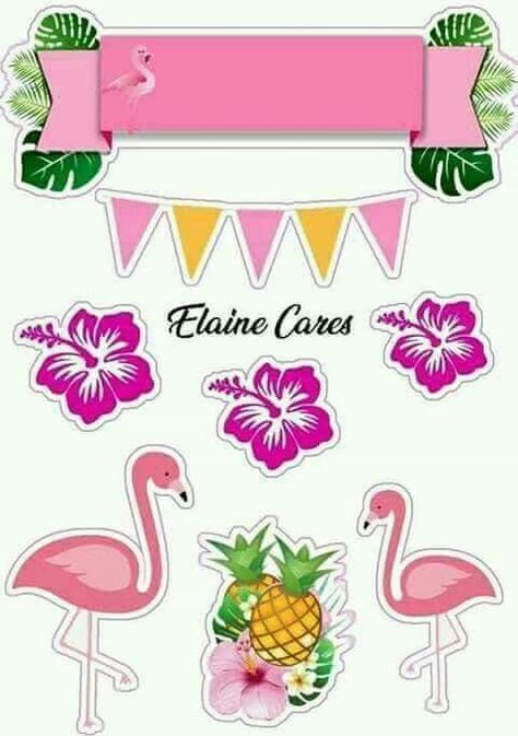List Of Pinterest Topo De Bolo Flamingo Scrap Images Topo