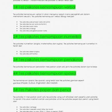 Contoh Soal Latihan Ujian Psikotes Pt Astra International Tes Matematika Logika Aritmatika Jika 3 1 24 5 2 Soal Soal Psikotes Ke Matematika Psikologi Kerja