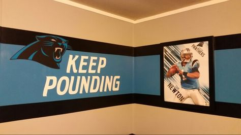 Carolina Panthers Bedroom Decor   Google Search | Austins Man Cave |  Pinterest | Google Search, Bedrooms And Men Cave
