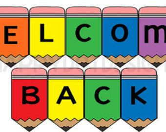 photo relating to Welcome Back Signs Printable titled Welcome Again Signs and symptoms Printable Charts Welcome again banner