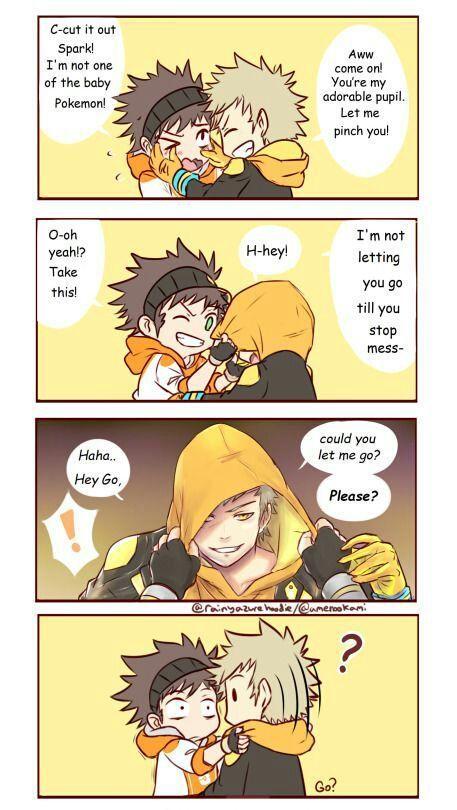 Pokemon Spark X Go