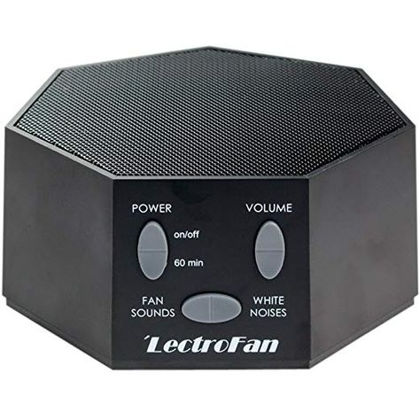 Amazon Com Adaptive Sound Technologies Lectrofan High Fidelity White Noise Sound Machine With 20 Unique Non L White Noise Machine White Noise Sound Pink Noise