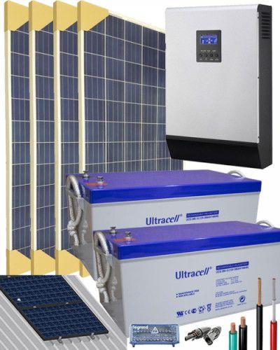 Kit Solar Gel 24v 6400whdia Kit Solar Kit Y Energia Solar