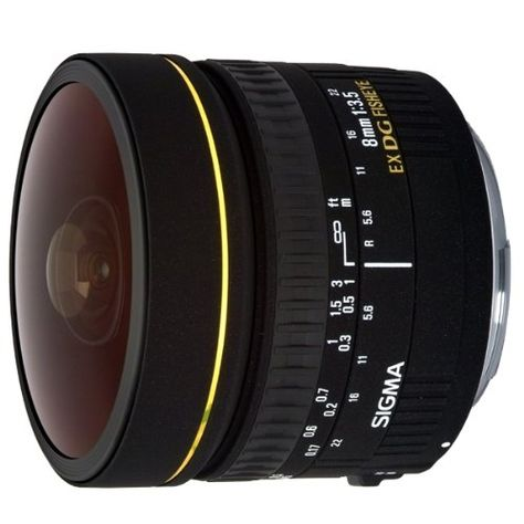 Sigma Objectif Fisheye 8 mm F3,5 EX DG Circular - Monture Canon Sigma