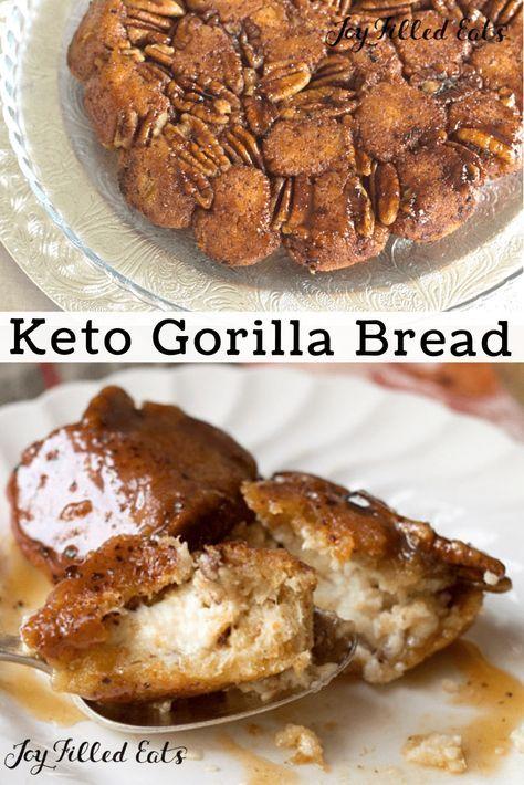 Gorilla Bread Low Carb Keto Gluten Free Grain Free Sugar