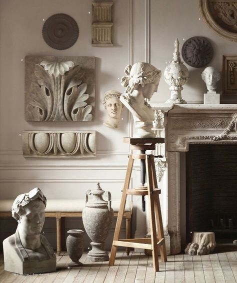 INSPIRATION: INTERIORS: CLASSIC STATUES — CLAIRE HEFFER DESIGN