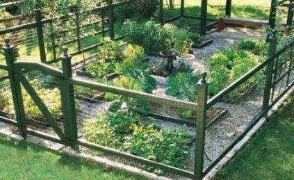 Best Garden Fence Ideas Veggie 65