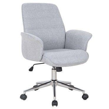 Chaise De Bureau Jary Grise Pas Cher C Est Sur Conforama Fr