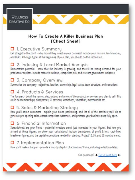Gym Business Plan Essentials - Examples, Templates & 7-Step Checklist