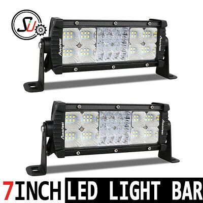 Sponsored Ebay 2x Boat Marine Projector Pontoon Docking Led Work Light Bar Waterproof 7 12v 8 Bar Lighting Led Work Light Pontoon Dock