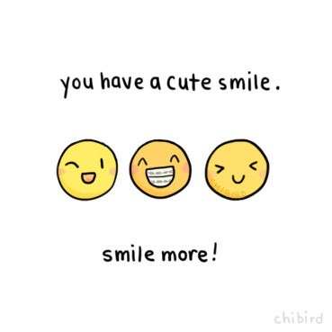 Even if you think you have a derpy smile, all smiles are still good ones. ;D