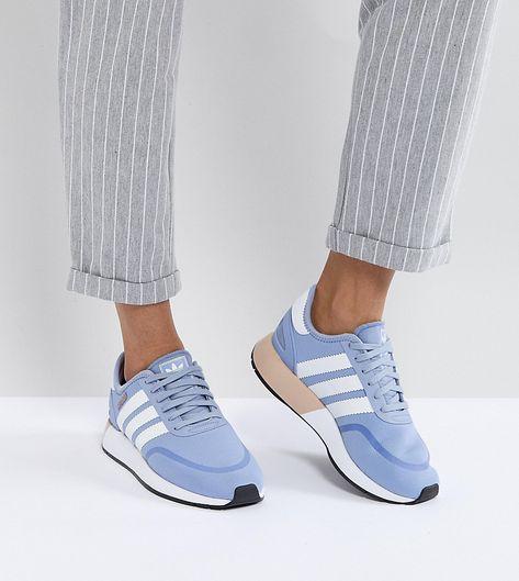 buy online 27b71 eff7c ADIDAS ORIGINALS ADIDAS ORIGINALS I-5923 RUNNER SNEAKERS IN BLUE HLD -  BLUE.  adidasoriginals  shoes