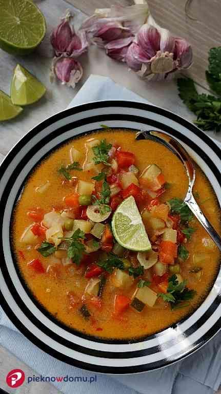 Przepis Orientalna Zupa Warzywna Recipe Recipes Culinary Recipes Healthy Recipes