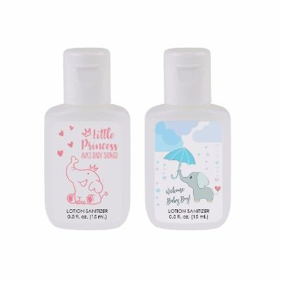 Customized 5 Oz Alcohol Free Unscented Sanitizer Lotion Full