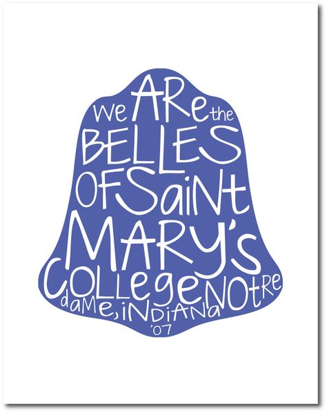 Belles of Saint Mary's. $15.00, via Etsy.