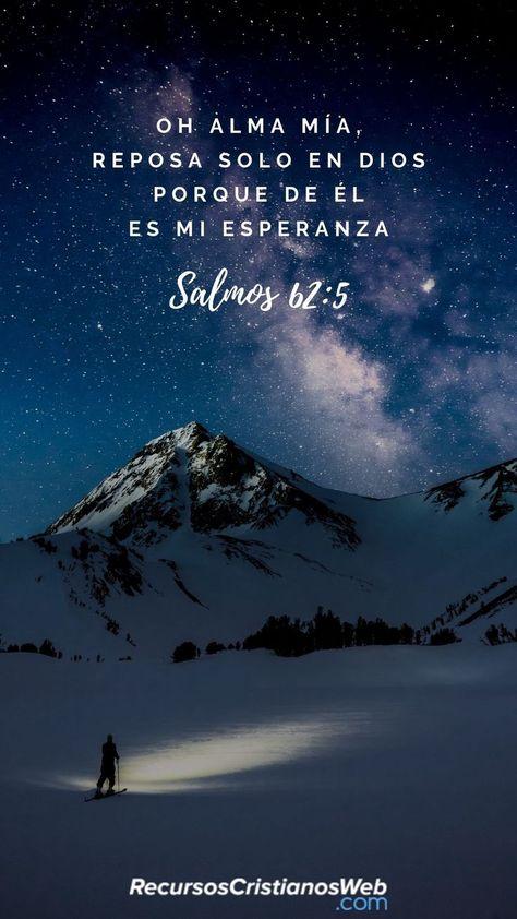 Versículos Bíblicos sobre la Esperanza - Salmos 62:5 - #Bíblicos #Esperanza #La #Salmos #Sobre #Versículos