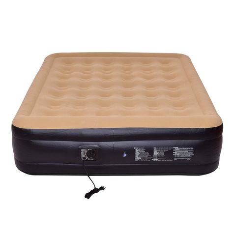 Giantex Mattress Double Inflatable Raised Air Bed W Built In