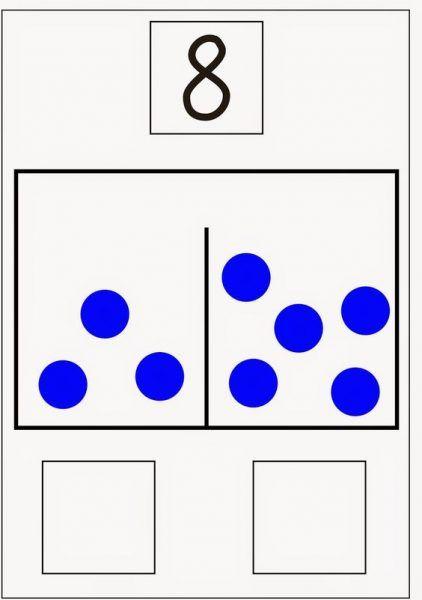 Number Decomposition - Worksheet School Art Education Resources, Science Education, Teacher Resources, Primary Teaching, Teaching Math, 1st Grade Math, Kindergarten Math, Math Magic, Math Work