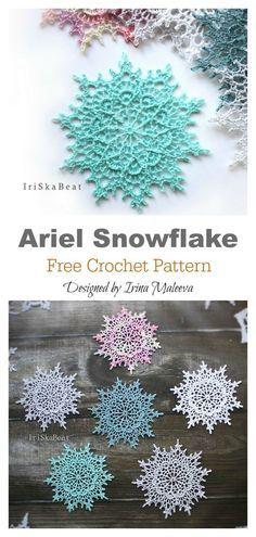Crochet Motifs, Crochet Flower Patterns, Thread Crochet, Crochet Crafts, Crochet Flowers, Crochet Projects, Knitting Projects, Crochet Doilies, Crocheting Patterns