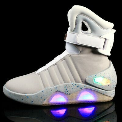Air Mag Back To The Future Ebay Ad Ebay Air Mag Back To The Future Marty Mcfly Sneakers Led Shoes For Men S Fashion Boots Men Glow Shoes Sneakers Men