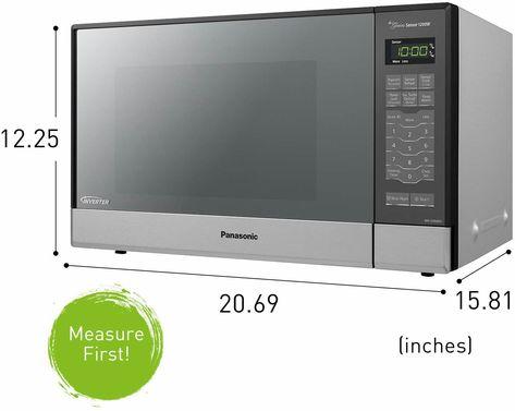 Panasonic Microwave Oven Nn Sn686s Stainless Steel Countertop