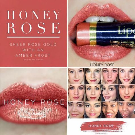 #HoneyRoseLipsense is so pretty💋 perfect sheer rosegold color for fall dm to order or click my links to shop . .  #lipsense #senegence #mlmsuccess #workfromhome #glossy #matte #MacLippy #sahmstyle #lipsfordaysbycolleen #shadowsenselooks #muaintrainin