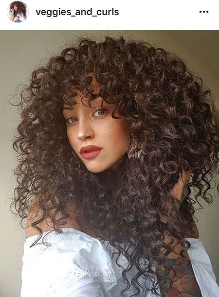 3a Curly Hair Fringe Hair Styles Curly Hair Styles Curly Hair Inspiration