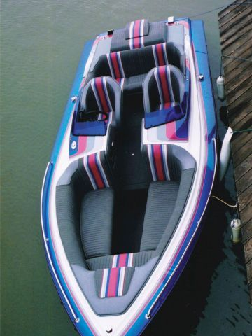 Best Boats Images On Pinterest Boat Interior Boat Upholstery - Bayliner boat decalsfour winns sun downer boat back to back seatbase stand red
