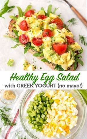 Egg Salad Recipe Healthy No Mayo