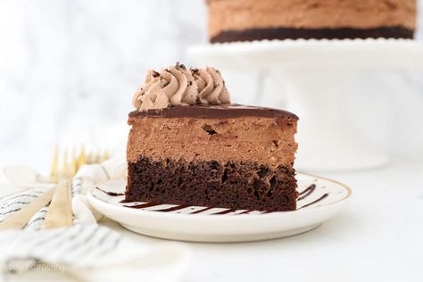 Chocolate Mousse Cake - Beyond Frosting