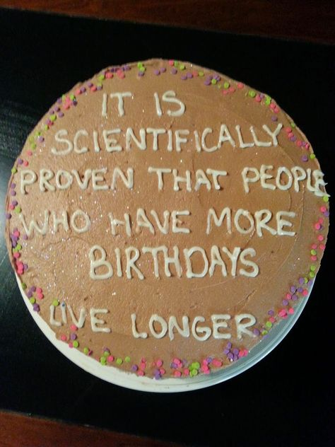 Excellent Picture of Funny Birthday Cake Funny Birthday Cake Funny Birthday Cake Hint Of Sprinkles Real Birthday Cake Baked Birthday Cakes For Men, Funny 50th Birthday Cakes, Birthday Cake Quotes, Happy Birthday Cake Pictures, Birthday Cake For Husband, Birthday Cake Card, Birthday Ideas, Birthday Gifts, 32 Birthday