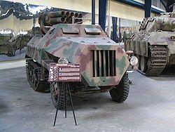 Panzerwerfer 42 alias Maultier