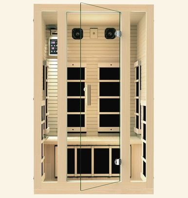 If You Re Looking For A Joyous 2 Person Infrared Sauna That S Beautiful Comfortable And Gives You All The W Infrared Sauna Best Infrared Sauna Portable Sauna