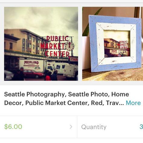 Seattle Photography Seattle Photo Home Decor Public Market