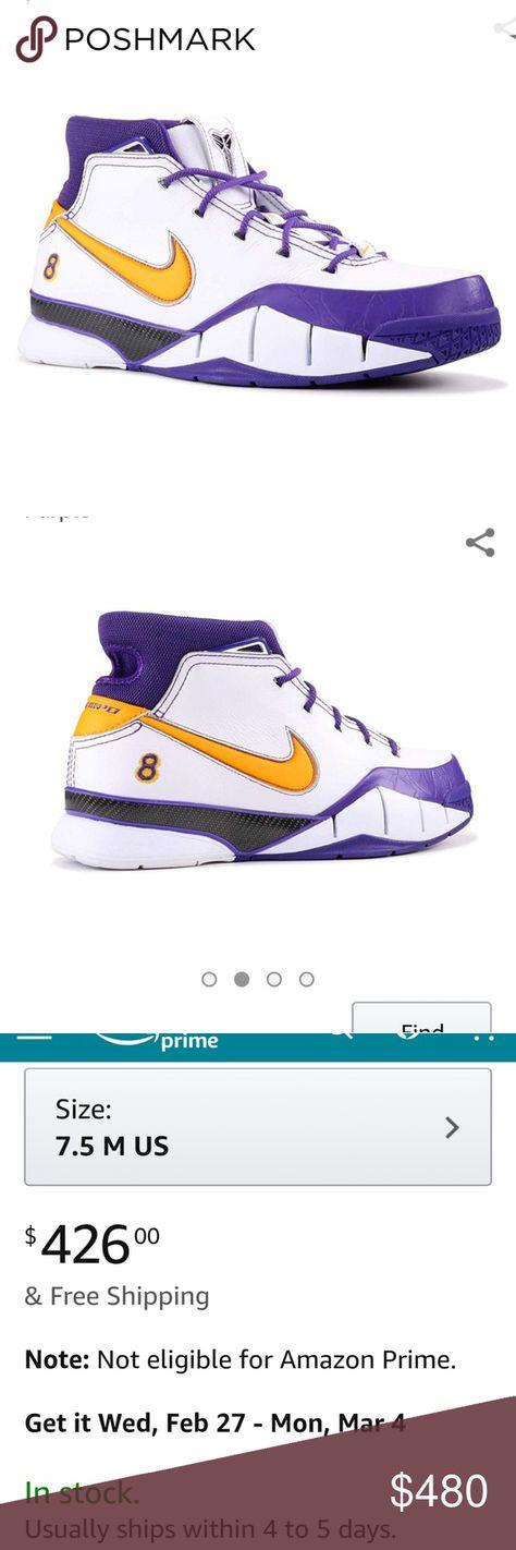 quality design db362 2fa72  CLOSE OUT  KOBE 1 PROTRO WHITE DEL SOL Kobe Bryant s first signature  sneaker.