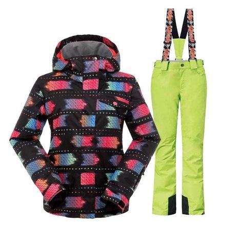 Gsou Snow winter ski suit women female skiwear snowboard