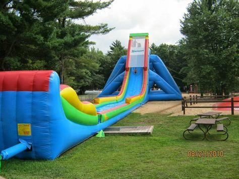 Pinezilla 42 Foot High 175 Feet Long Inflatable Waterslide Inflatable Pool Swimming Pool Floats Water Slides