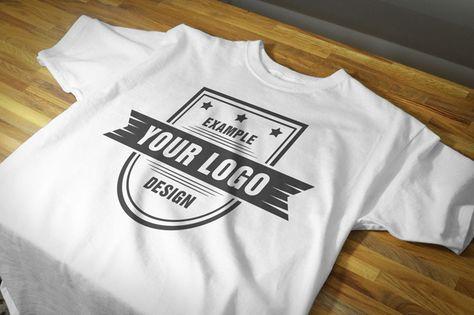 Download Free Realistic T Shirt Front View Closeup Mockup Mediamodifier Online Mockup Generator T Shirt Design Template T Shirt Clothing Mockup