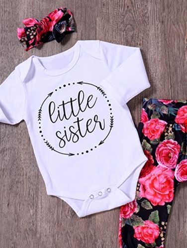 I Have the Best Sis Sister Ever Cute Boys and Girls Vest Bodysuit