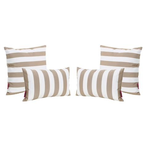 Outdoor Throw Pillow Set Jordan