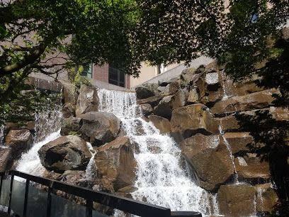 Ups Waterfall Garden Park Google Maps With Images Waterfall
