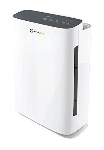 Invisiclean Aura Air Purifier With Carbon Pre Filter True Hepa Filter Ionizer Uv C Light Air Purifier Allergies Hepa Air Purifier Air Purifier