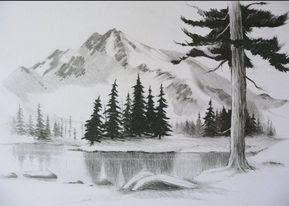33 Sketsa Pemandangan Alam Yg Mudah Di Tiru Contoh Lukisan Pemandangan Yang Mudah Ditiru Pensil Download 80 Di 2020 Lukisan Pemandangan Kota Pemandangan Lukisan