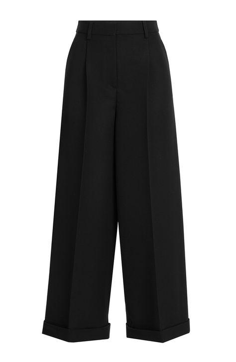 d0f84662327d VALENTINO Wide Leg Virgin Wool Pants.  valentino  cloth  pants