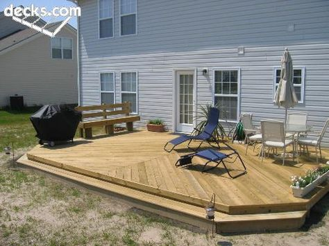 Deck With No Rails 1500 Trend Home Design 1500 Trend