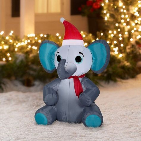 Lighted Elephant Christmas Decoration Home Decorating Ideas